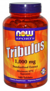 NOW Tribulus 1000 мг (180 таб)