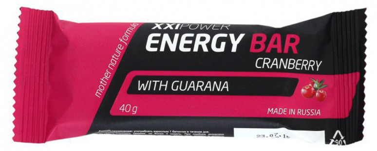 Батончик XXI Power Energy Bar (40 г)