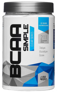 RLine BCAA Simple Powder банка(400 г)
