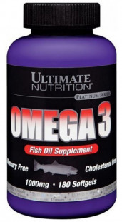 Ultimate Nutrition Omega-3 1000 mg (180 кап)