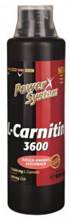 Power System L- Carnitine 3600 72000 мг (500 мл)