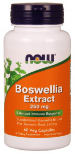 NOW Boswellia Extract 250 мг (60 кап)